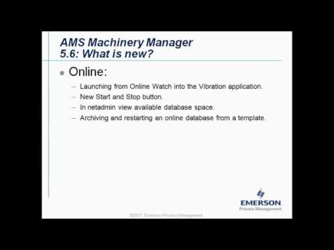 CSI2140 and AMS Machinery Manager v5 6 what is new I-CARE