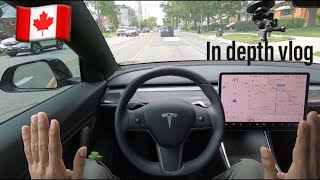 Tesla in India ? |Tesla Model 3 Hindi Review | Safest Car | What an Experience |