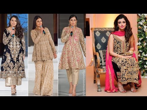Gorgeous Bridal And Party Wear Dresses 2018