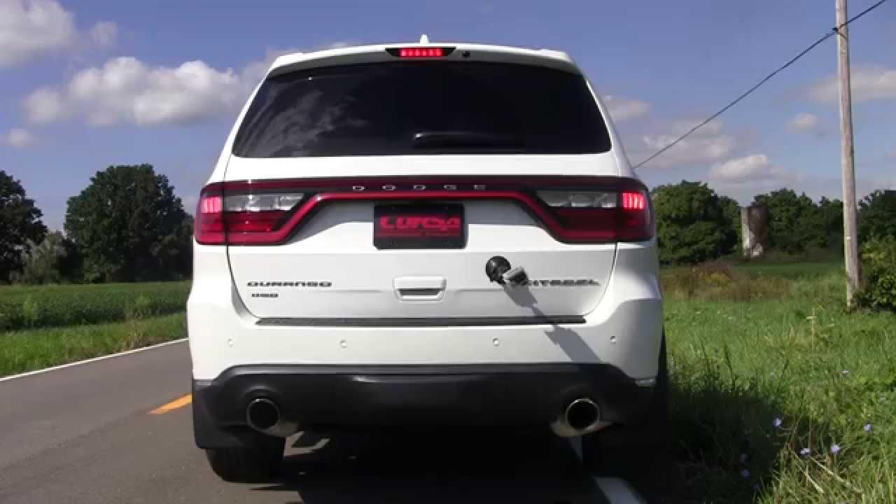 Durango R T Cat Back Exhaust