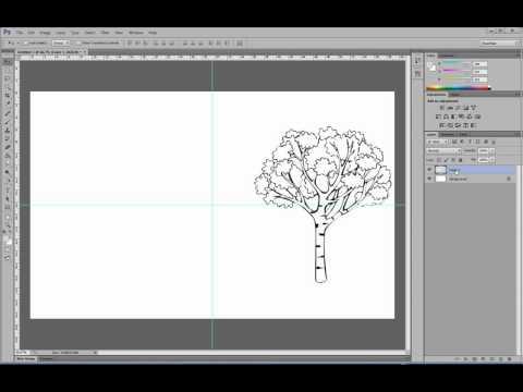 Как поставить изображение по центру в фотошоп