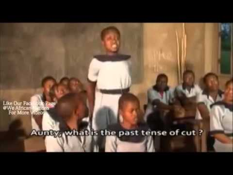 Funny African learning English