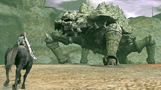 Shadow of the Colossus: Basaran Boss Fight - 9th Colossus (PS3 1080p)