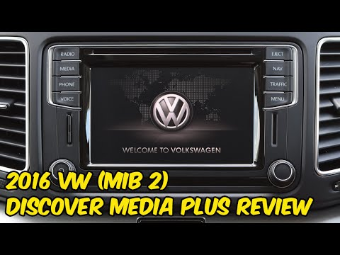 Volkswagen Discover Media Plus (MIB2) System Review