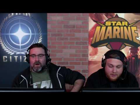 Star Citizen : Star Marine Gameplay (First Look 2016)
