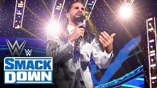 Seth Rollins blames the WWE Universe for Edge's injury: SmackDown, Sept. 17, 2021