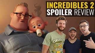 Incredibles 2 SPOILER Movie Review
