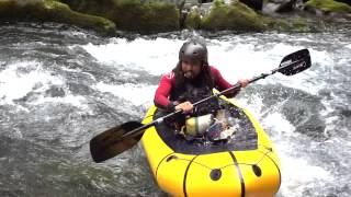"Pack Raft ""DOWN RIVER"" PV 2015"