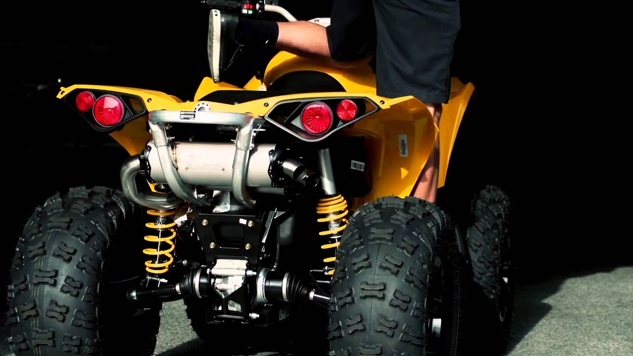 2012 Can-Am Renegade 1000 by Two Brothers Racing - YouTube
