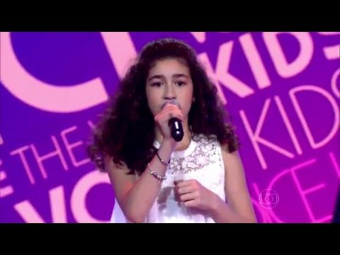 Julia Barrak canta 'Royals' no The Voice Kids - Audições|1ª Temporada