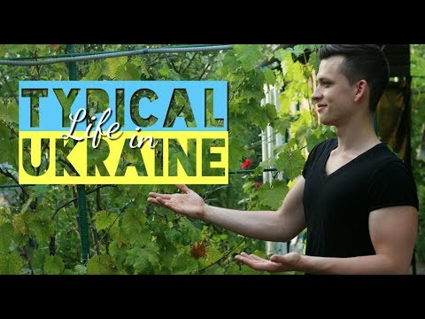 REAL UKRAINIAN VILLAGE, how average People live / Travel to Saporischschja ,Ukraine