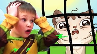 КРАСНЫЙ ШАР МИСТЕР МАКС спасает кошечку Мурку от лол, мультик игра Детский летсплей #46