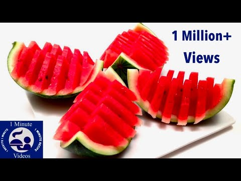 How to Quickly Cut and Serve a Watermelon / DIY, Party Idea, Tutorial, Cooking Tips