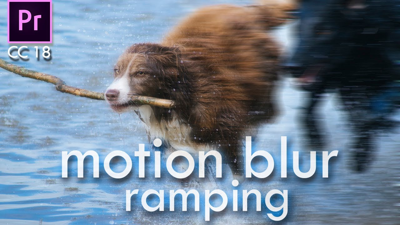 how to add motion blur premiere