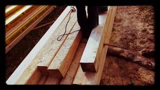Строжка бруса для бани / Строительство бани из бруса(, 2015-09-08T17:27:08.000Z)