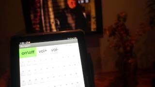 Как управлять любым телевизором LG с планшета.
