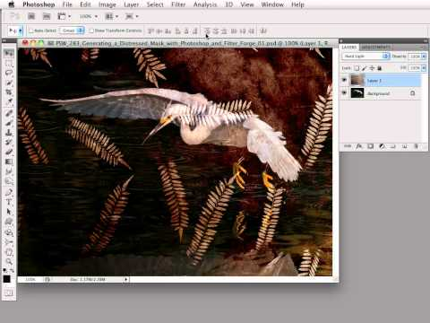 #Photoshop Workbench 283: Generating A Distressed Mask With Filter Forge And Photoshop