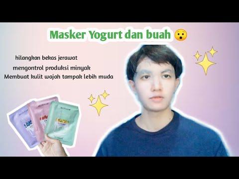 cara-menghilangkan-bekas-jerawat-|-beotua-yogurt-fruit-sheet-mask-|-mvlog---11-|