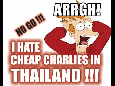 Cheap Charlies in Thailand - Sunny's Thailand Vlog # 57
