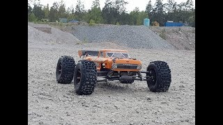 """ARRMA Outcast LWB 6s BLX 