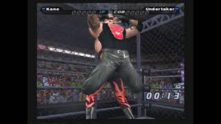 WWE Smackdown!: Shut Your Mouth - Kane vs The Undertaker - Hell In A Cell Match