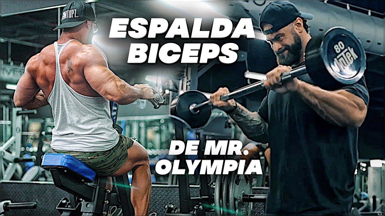 Download Hice la RUTINA DE ESPALDA Y BICEPS Mr. Olympia de Chris Bumstead (Martes) gym topz