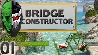 Bridge Constructor - A Bridge over troubled Water - E01 | Docm77