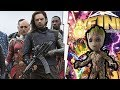 New Winter Soldier Arm And Costume Revealed!  Avengers Infinity War - Infinity Countdown #1 Review