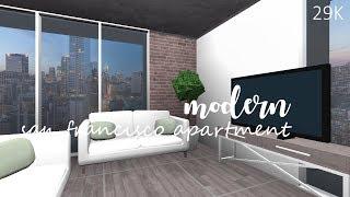 ROBLOX | Bloxburg : Modern San Francisco Apartment 29K