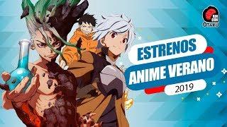 EstrenosAnimeVerano2019 #Animes #Verano Te presento la cartelera de...