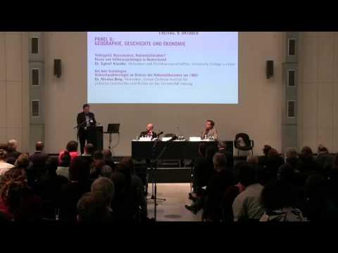 Panel 6: RASSE. Geschichte und Aktualität eines gefährlichen Konzepts - Geschichte und Ökonomie