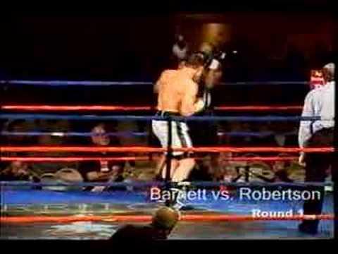 Jason Barnett TKO 1 Douglas Robertson
