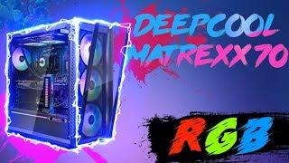 🔥Обзор Deepcool matrexx 70 add-rgb 3f