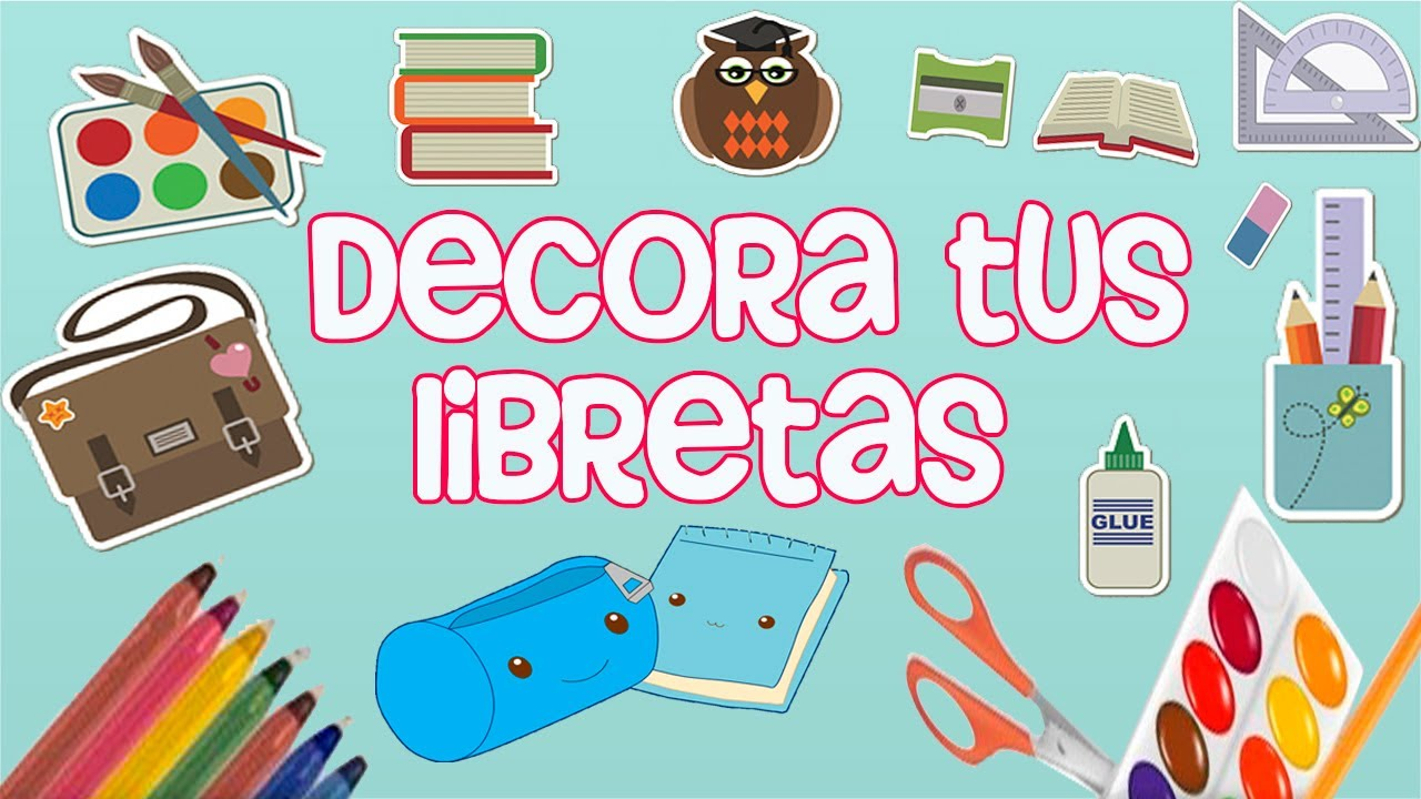 Madeheart Cuaderno De Dibujo Libreta Para Dibujar Hecho: DECORA TUS LIBRETAS Para Este Regreso A Clases
