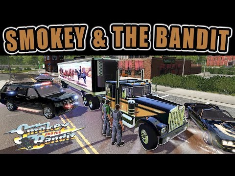 SMOKEY & THE BANDIT MULTIPLAYER ROLEPLAY- TRANSPORTING COORS BEER | FARMING SIMULATOR 2017