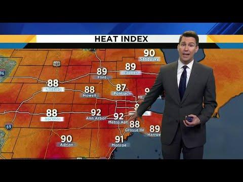 Metro Detroit weather brief, 8/20/2019, 5 p.m. update