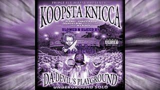 R.I.P KOOPSTA KNICCA-Stash Pot Slowed N Sliced By Dj Chucksta.PROMO USE ONLY
