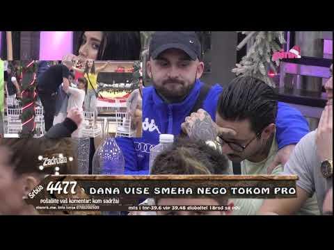 Zadruga 3 - Marija šokirana naslednicom Miljanom zbog poljupca sa Đukićem - 10.01.2020.