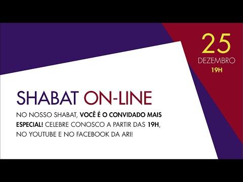 KABALAT SHABAT - 25/12/2020