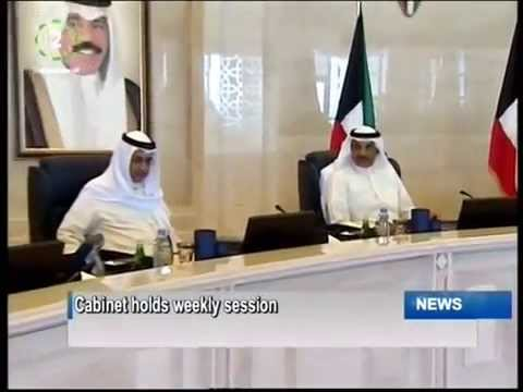 Kuwait's Cabinet reviews measures to maintain rule of law during weekly session