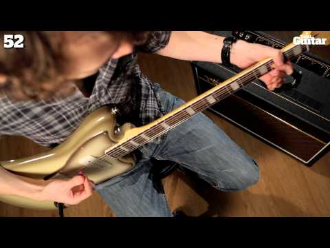 Squier Vintage Modified Baritone Jazzmaster 90 second demo review
