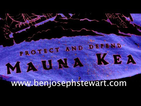 The Power of the Mauna Kea action happening RIGHT NOW