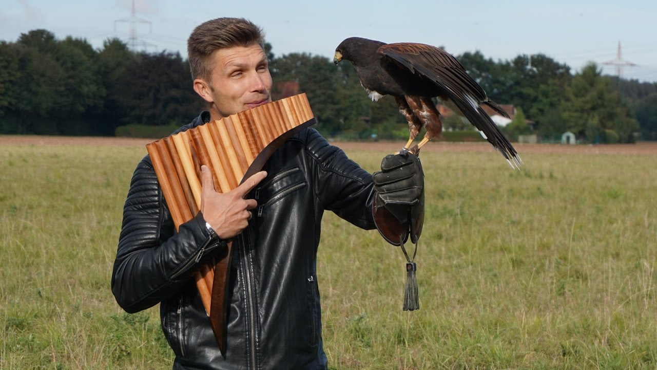 El cóndor pasa – David Döring Panflöte |Pan flute | Panpipe |Flauta de Pan