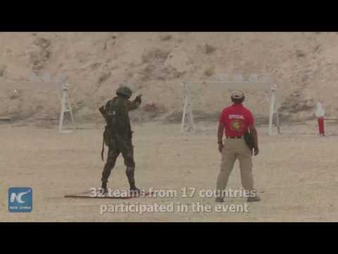 China wins Jordan's international warrior competition