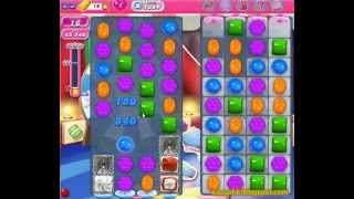 Candy Crush Saga - Level 1384 (3 star, No boosters)