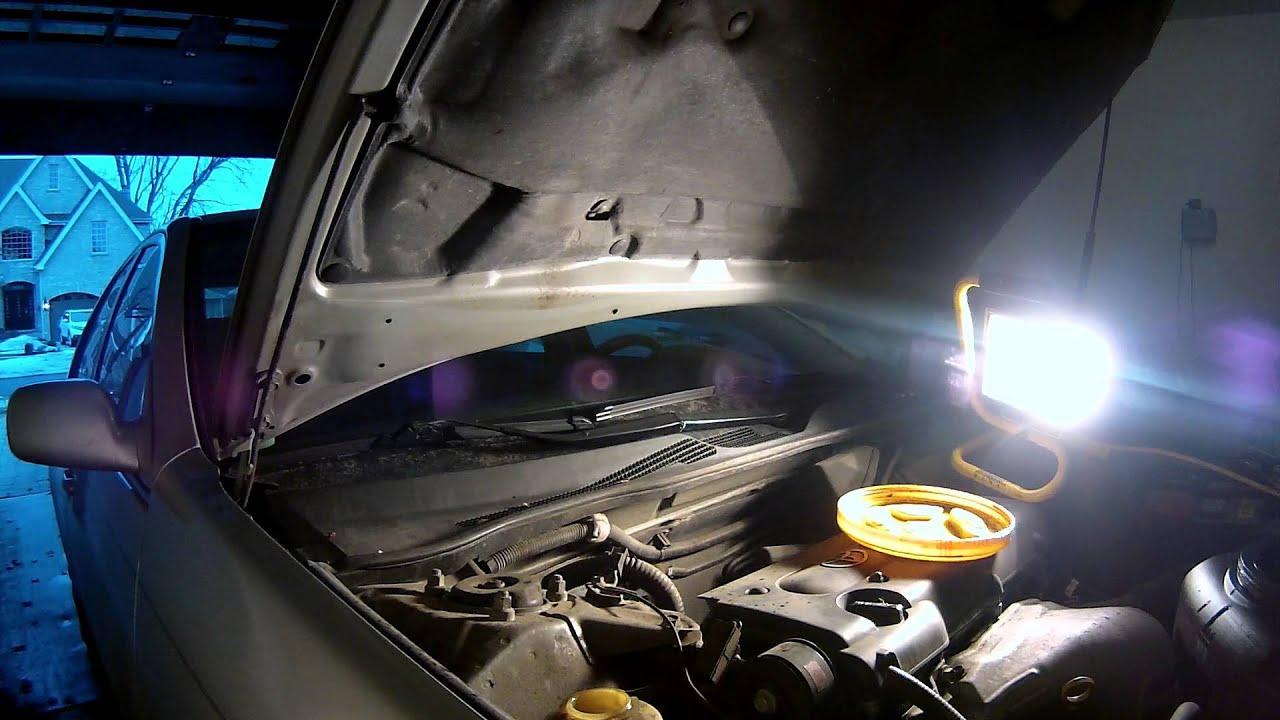 2002 Toyota Camry Power Steering Fluid Change