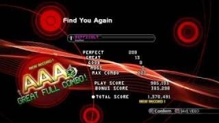 DDR PS3 - Find You Again, Difficult, AAA+Full Combo
