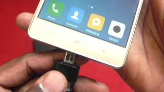How to Connect External Hard drive to Phone | Xiaomi Redmi 3s Prime | WD Ultra Hard Drive