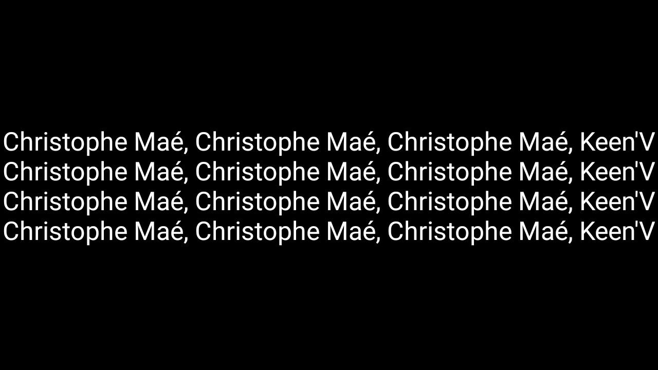 orelsan christophe mae