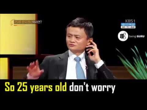 Jack Ma S Wonderful Advice For Different Age Groups Youtube
